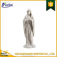Outdoor garden decor large white resin virgin mary statue NT-FS315K