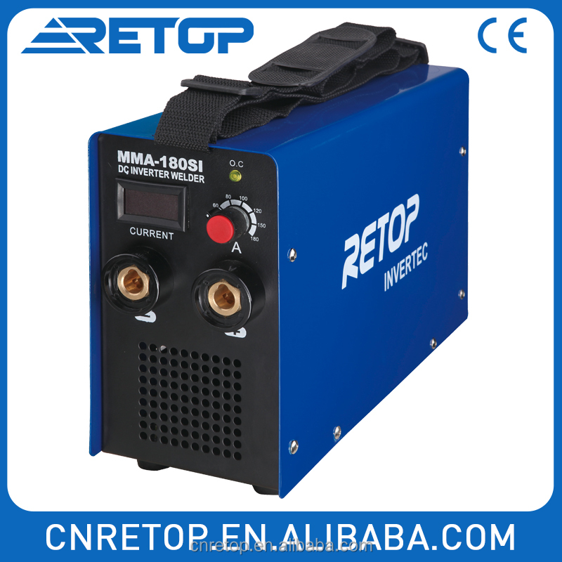 Compact and adaptable IGBT Inverter DC arc MMA-200SI mma 200 arc welder
