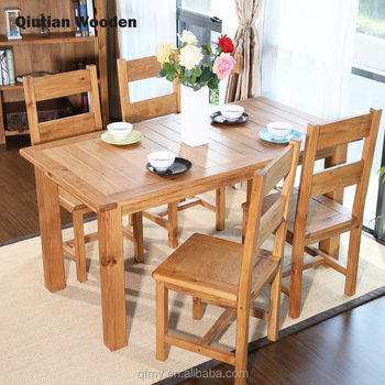 Dining Tables Sets Dining Room Furniture Solid Wood Japanese Style