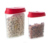 FDA/LFGB approved 5 pcs cereal plastic storage container