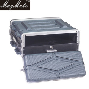 Yinyun ABS Rack Case 4u/6u/8u/10u/12u, 8/17inch, Amplifier Case Flight Case with Microphone Drawer