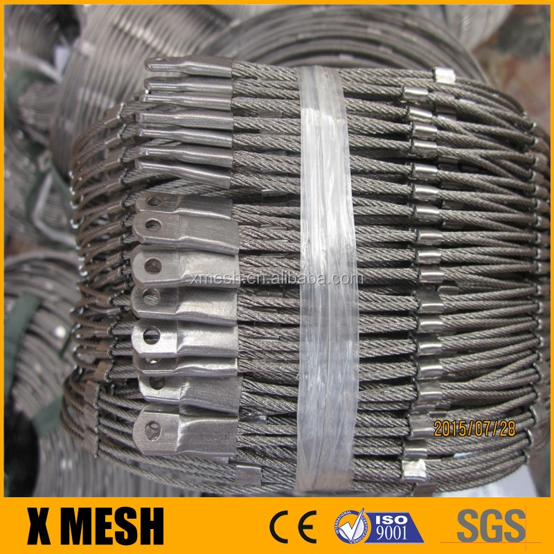 Pliable Inox Balustrade And Railing Cable Wire Mesh - Buy Rope ...