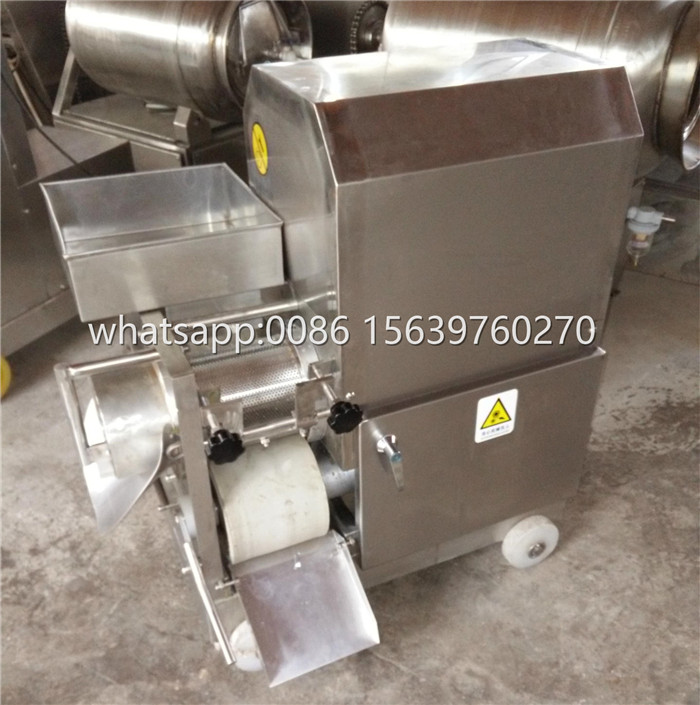 automatic crab  fish meat collector fish meat deboner for making fish ball