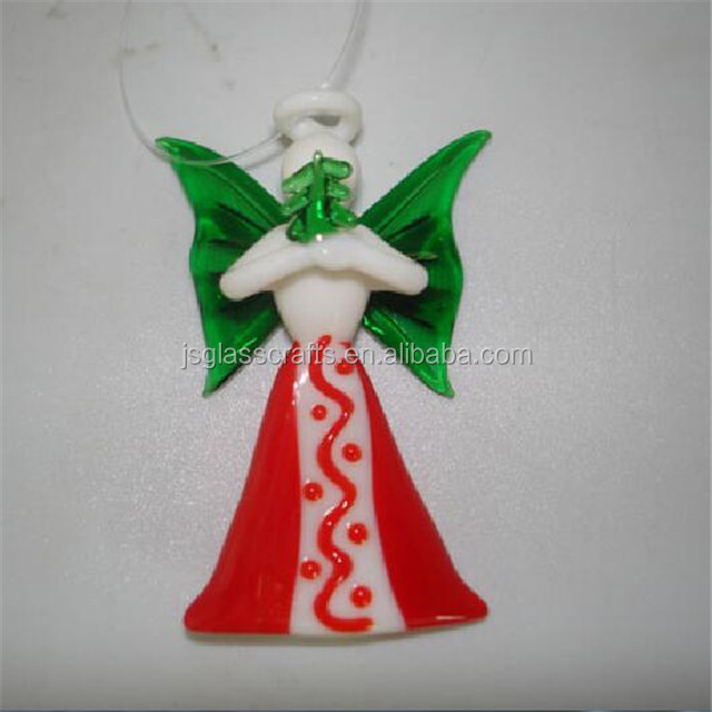 handmade glass angel ornaments handmade glass angel ornaments suppliers and manufacturers at alibabacom - Handmade Angels Christmas Decorations