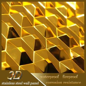3d Corrugated Exterior Decorative Metal Wall Panel - Buy Metal Wall ...