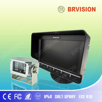 "New design 7"" Digital High Backlight LCD Monitor with built-in GPS"