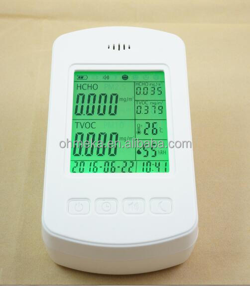 Household Multi-functional formaldehyde meter WIFI CO2 Air quality Monitor