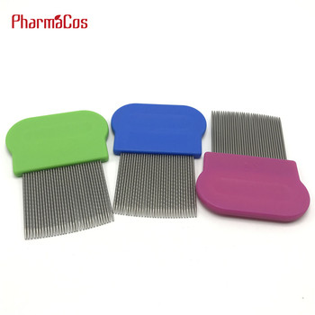 Factory price nit comb for lice hair lice comb stainless steel hair comb