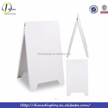 Plastic A Frame Sign,Portable Sidewalk,A Frame Menu Boards - Buy ...