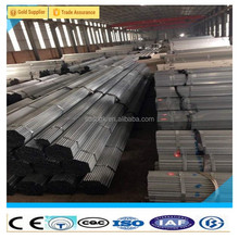 prime quality low carbon Q235 Fence Post Galvanized Steel Pipe Tube