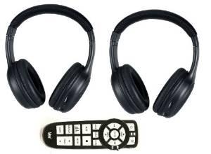 Chrysler Aspen Headphones and DVD Remote 2008 2009 2010 2011 2012