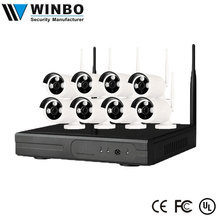 China Factory Price 8CH 4CH 720P 960P 1080P Waterproof Wifi Wireless Security Camera System NVR Kit