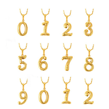 Birthday gift fashion design gold color lucky number pendant for birthday gift fashion design gold color lucky number pendant for necklace chain aloadofball Image collections
