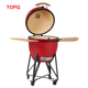 Newest Kamado Smoker Ceramic Grill with table bbq grill