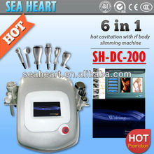 Best sale Portable 6 in 1 Skin Rejuvenation cavitation slimming machine for weight loss