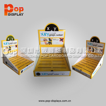 Small Template Foldable Counter Display