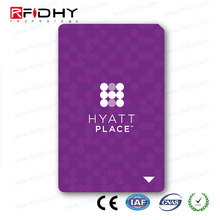 NFC Business Card - Programmable Rewriteable MIFARE DESFire EV1 8K Bytes Big Memory ISO14443A - Credit Card Size