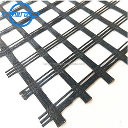 Parking lot stabilization new technologies biaxial polyester geogrid