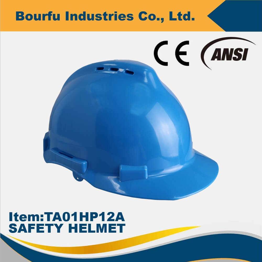 CE EN397 PP Safety Helmet For Head Protection