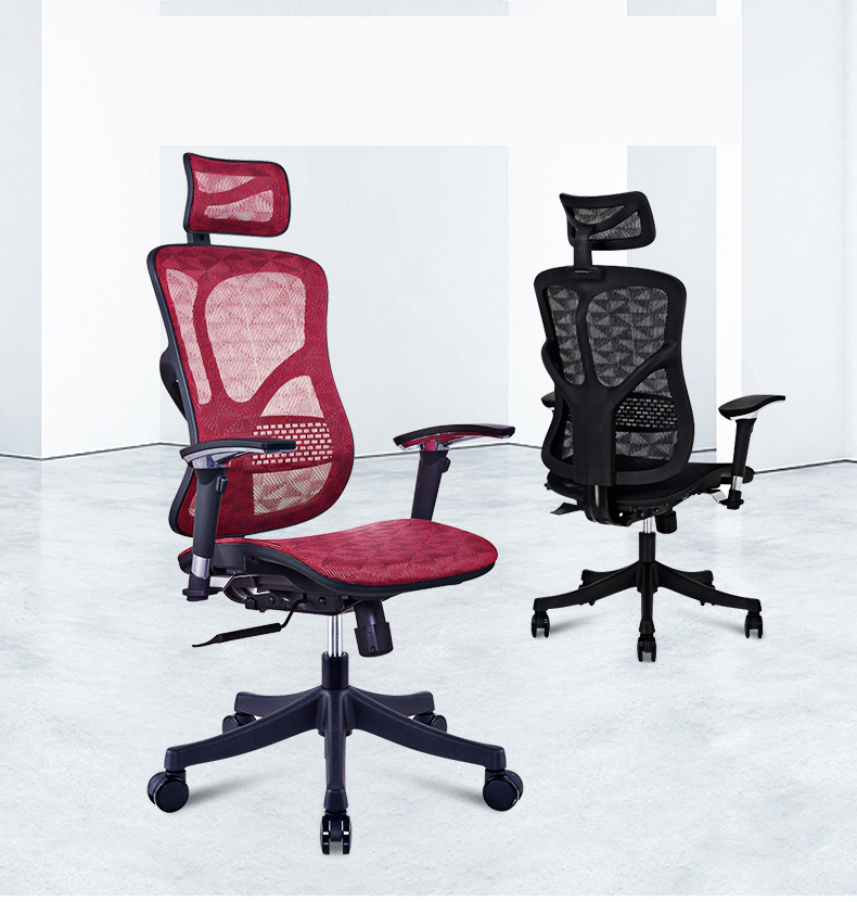 five star base mesh chair office