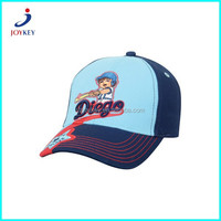 3d embroidery fashion children baseball cap