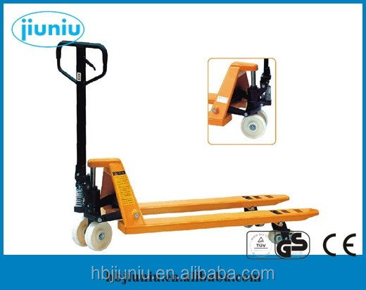New condition 1ton-3ton manual hydraulic pallet truck with hand brake