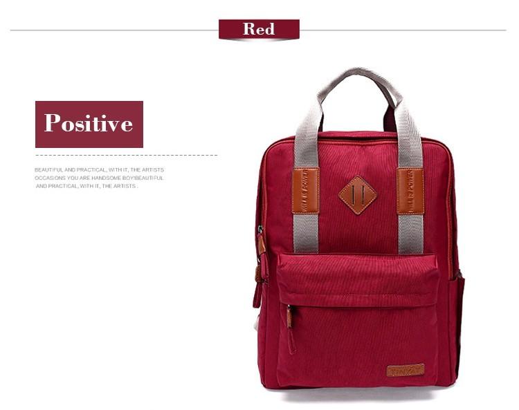 Пара корейской звезды стиль для женщин мужчин студент рюкзак функциональный  компьютер ноутбук сумка мода e237d85142c12