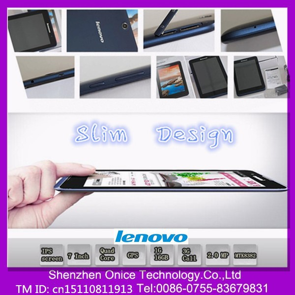 A3500 Lenovo 7 inch city call android phone tablet pc cheap mini tablet mid gsm phone