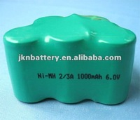 6V 1000mAh Nimh Battery Pack In Rechargeable Batteries