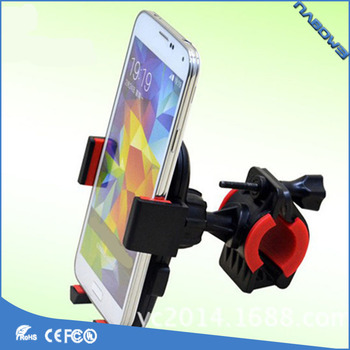 Outdoor mobile phone holder silicone cell phone holder for Bicycle mount Mobile Phone