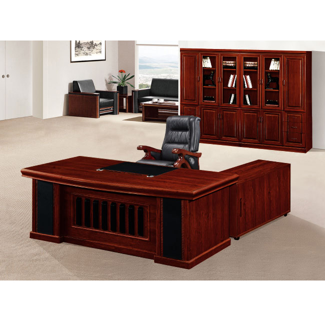 Classic Wooden China Office Furniture L Shape Front Office Desk Design With Side Cabinet With Drawer Wooden Office Table Design Buy Wooden Office Table Design Front Office Desk Design China Office Furniture Product