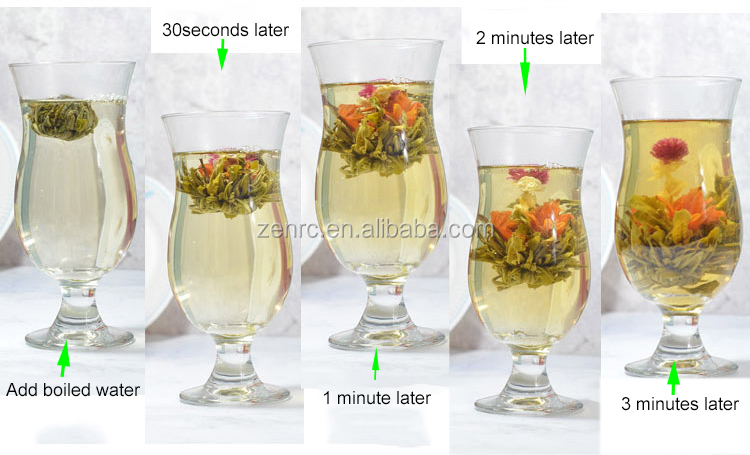 Healthy Handcrafted Flowering Blooms Tea Balls