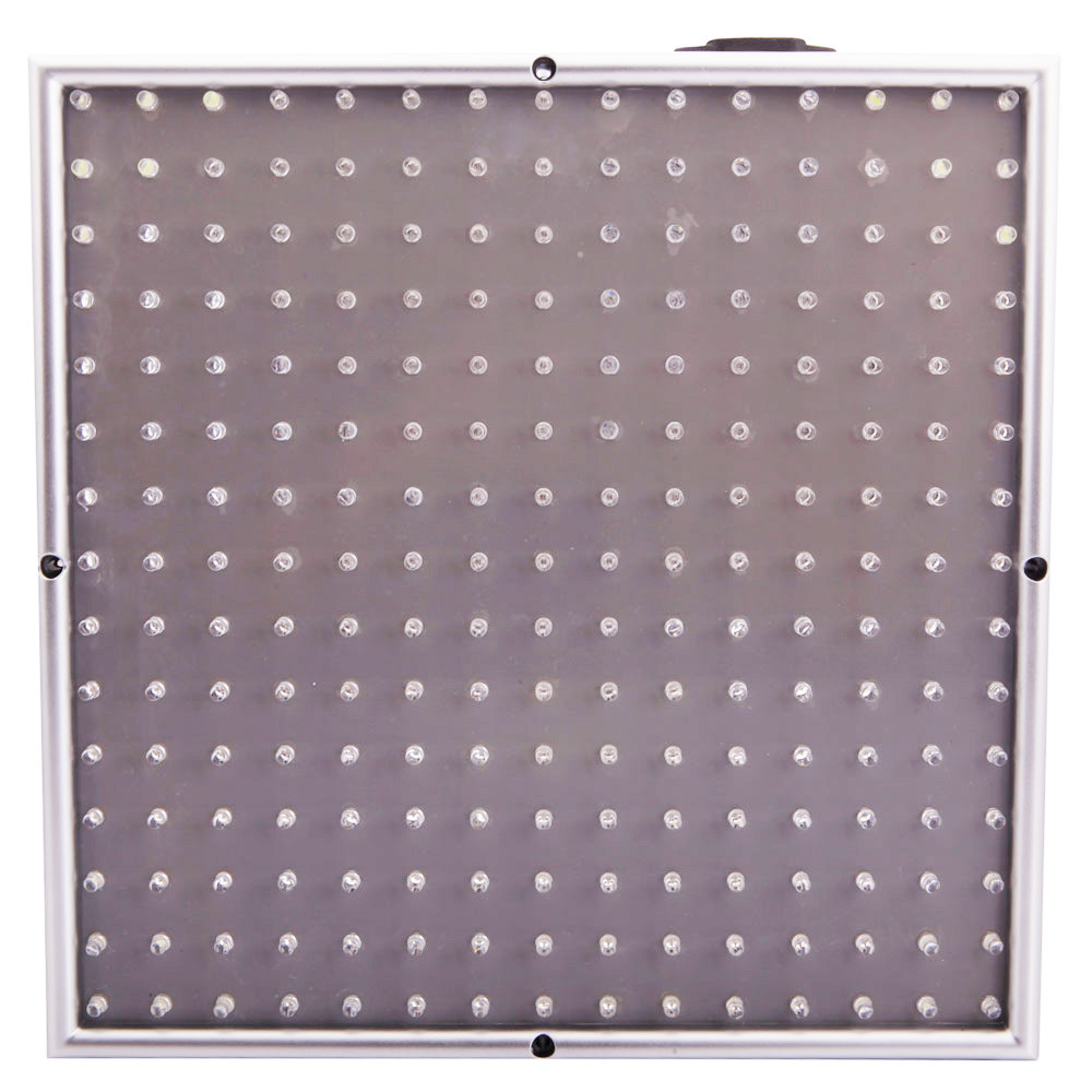 10W 225-LED Red & Blue & Orange & White Light LED Plant Growth Light Silver