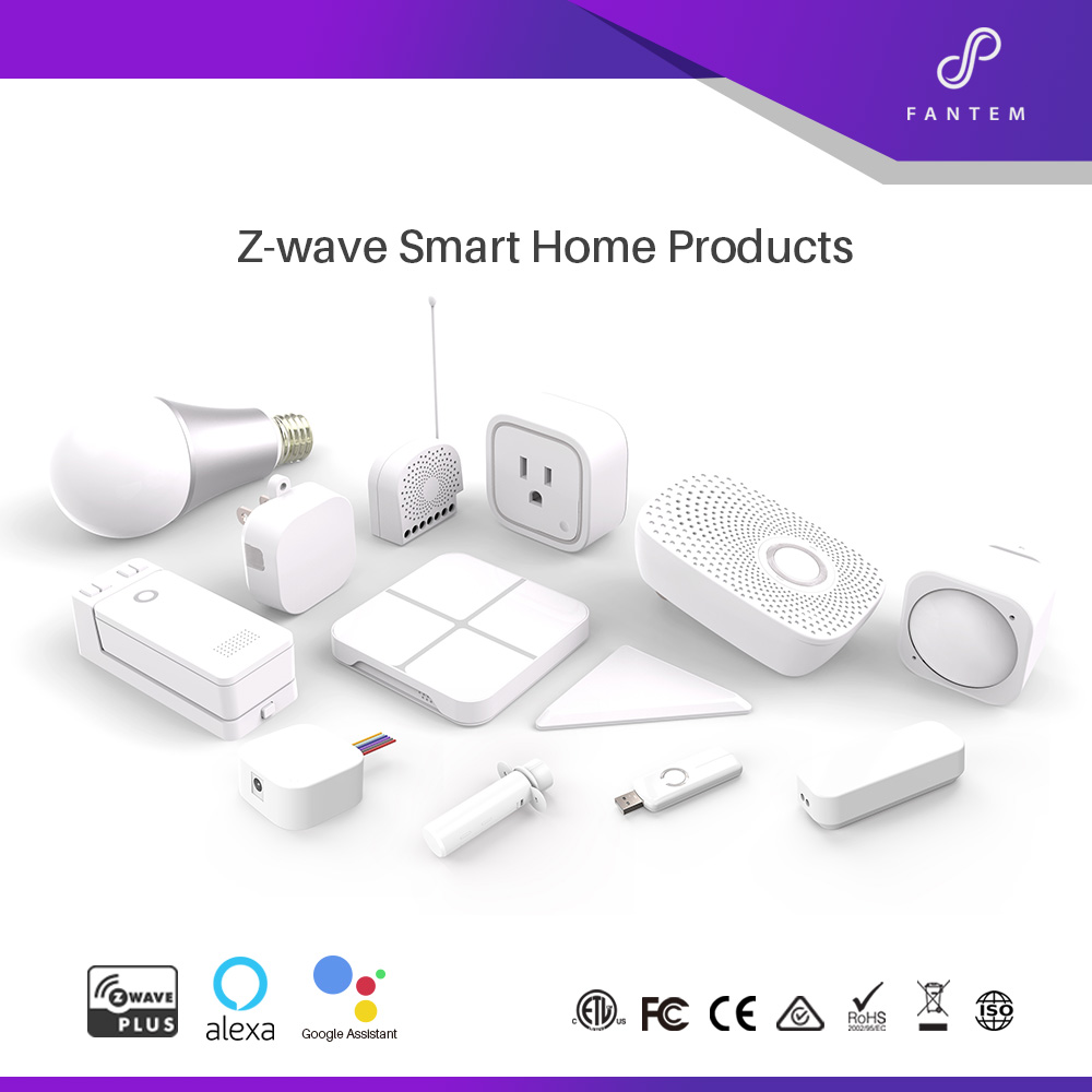 Smart home security system wireless zwave door automatic window alarm sensor
