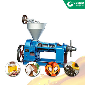 CE certificated oil press equipment mini almond oil extraction machine