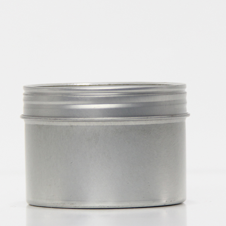 Plain Empty Aluminum CBD Jar