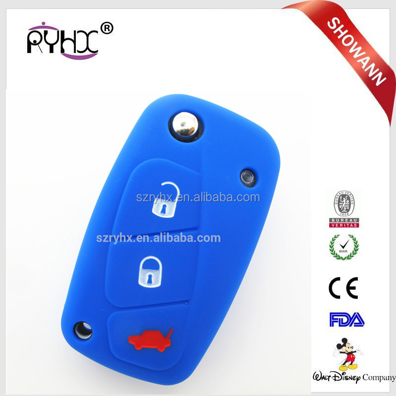Factory hot sales silicone remote key programmer for Fiat