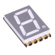 gray surface 0.56 inch smd led 7-segment white