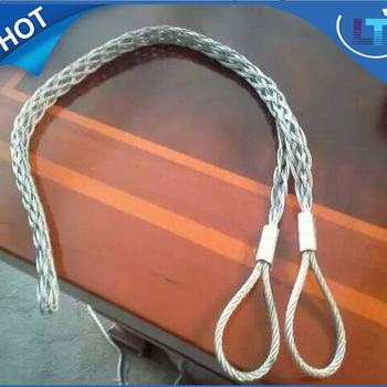 Cable Wire Rope Pulling Grip/wire Rope Sock/cable Sock Grip - Buy ...