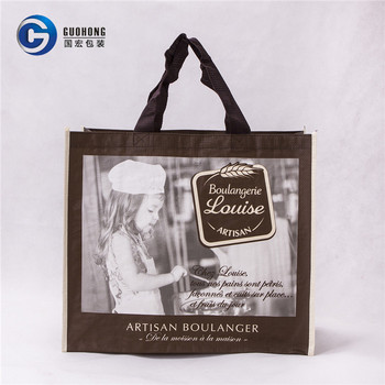 Promotional Product Reusable Laminated Pp Woven Shopping Tote Bag Wholesale