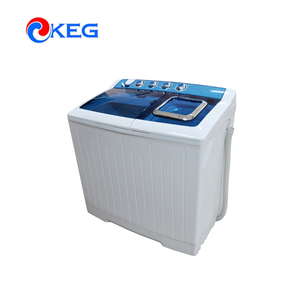 10kg Double Tub Home Washer Clothes Washing Drying Machine