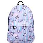 2017 hot sale unicorn backpack/ school bag