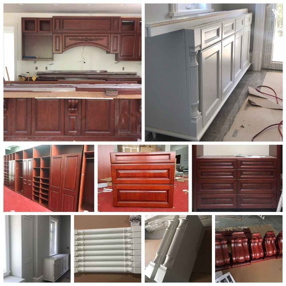 White Kitchen Cabinets Quality: High Quality Standard White Shaker Door Solid Wood Kitchen