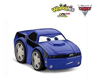 Mattel-Fisher Price Wheelies Disney Pixar Cars 2 Rod Redline