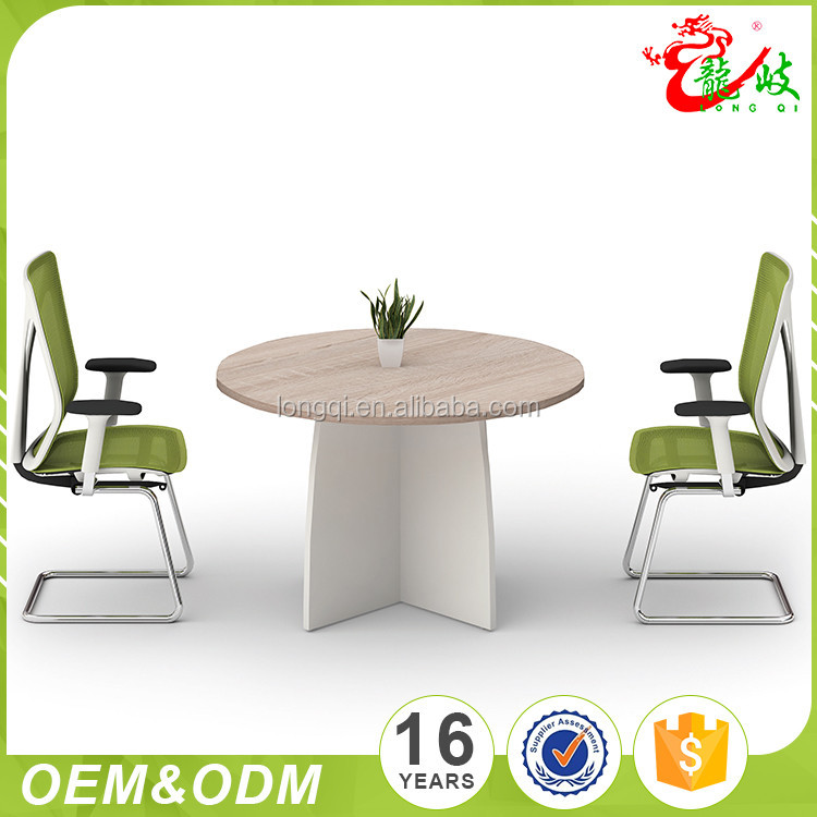 New design Negotiating wooden conference room table small round office meeting table specifications