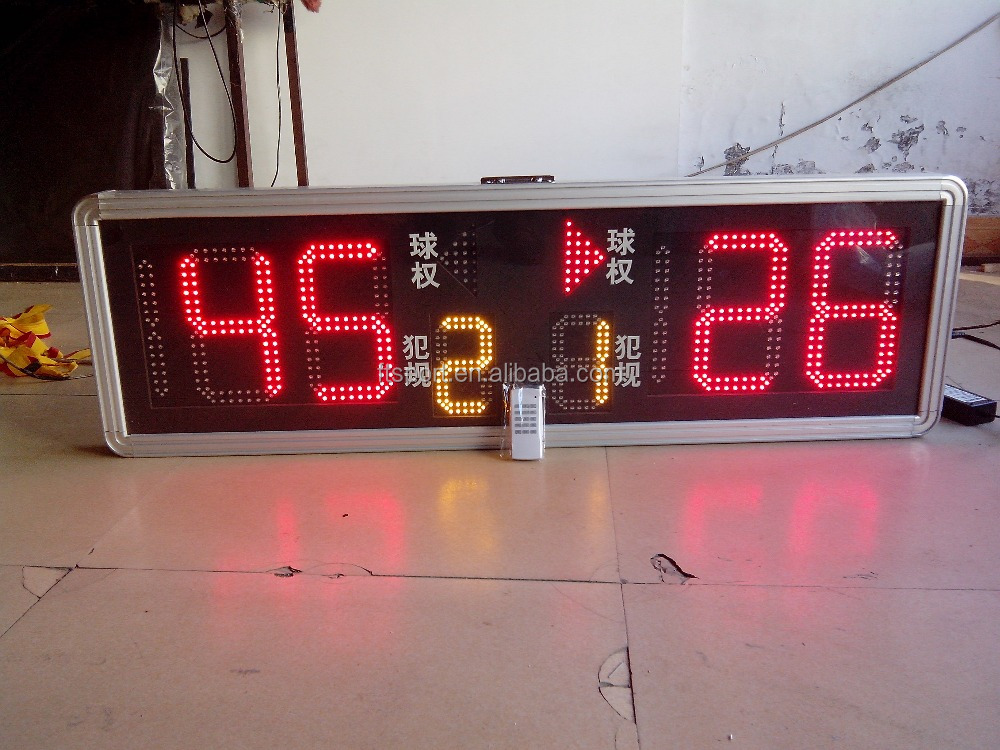 Top Quality Electronic Digital LED Basketball/Football Display Score Board
