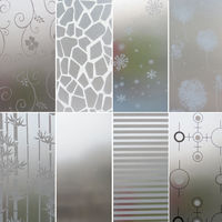 Frosted Privacy Frost Glass Window Film Sticker Bedroom Bathroom Home Decor