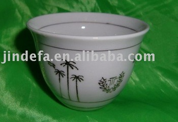 China Manufacturer Porcelain Cawa Cup