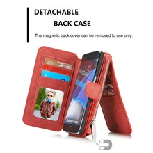 Mobile phone accessories, leather phone case for Samsung S7 edge