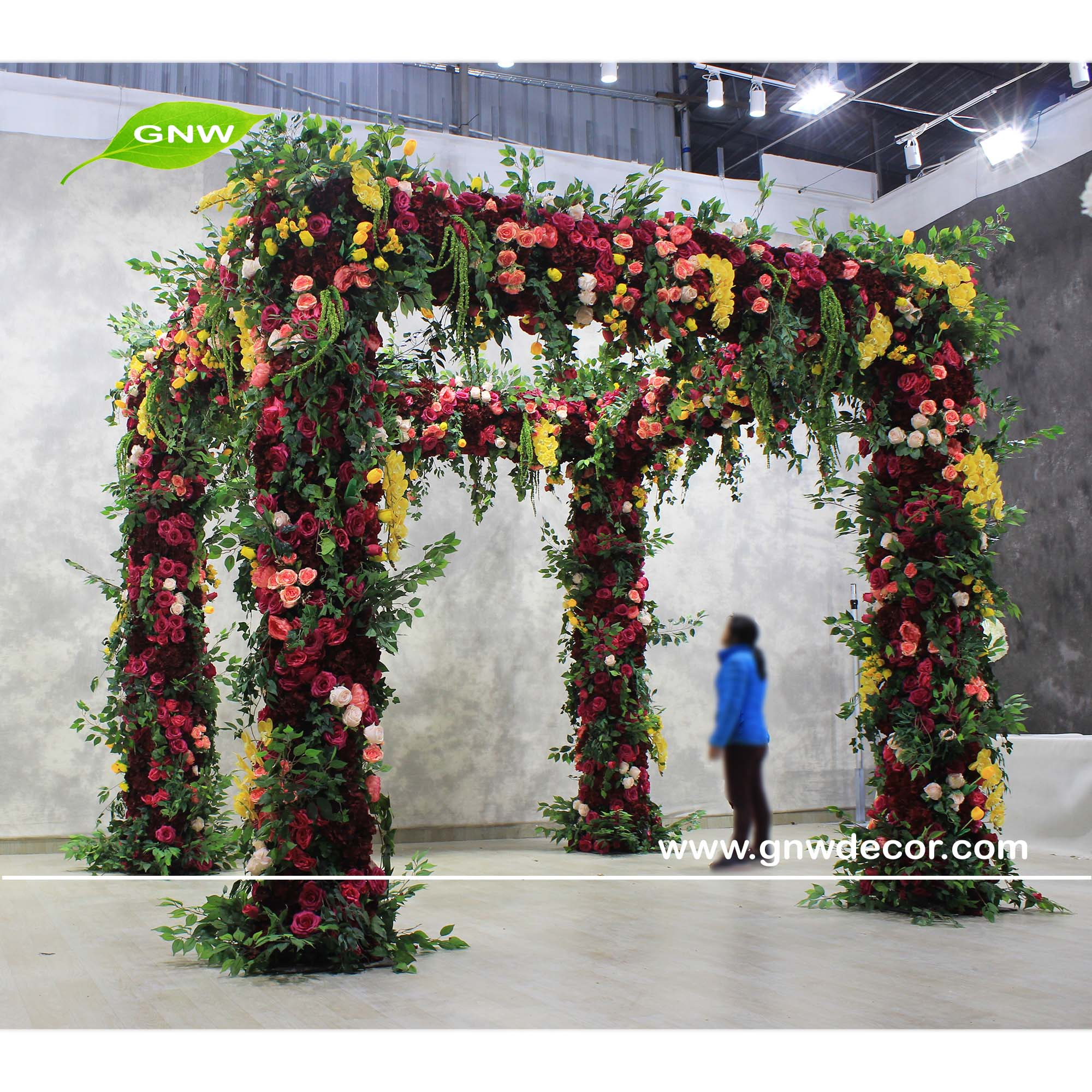 GNW Retro Four-Legged Flower ArchWedding Stage Decoration Metal Arch Wedding  Party, View Wedding Stage Decoration, GNW Product Details from GNW  Technology Co., Ltd. on Alibaba.com